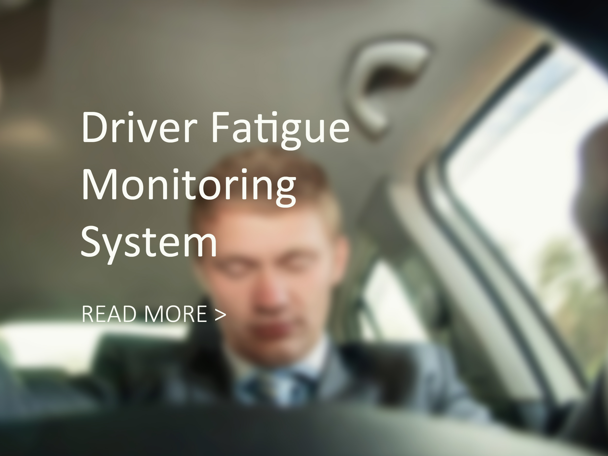 driver fatigue monitoring system