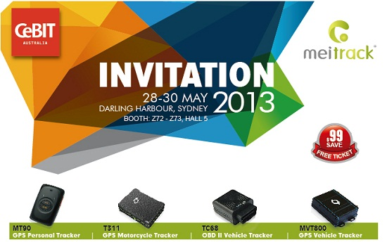 Invitation of CeBIT Australia 2013