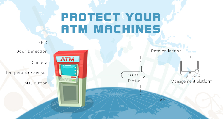 Meitrack GPS Tracking Solution Adds to ATM Machines - Meitrack